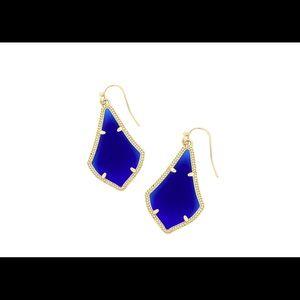 Kendra Scott Alex Cobalt Earrings